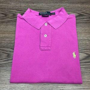 Polo Ralph Lauren Hot Pink Polo Shirt L